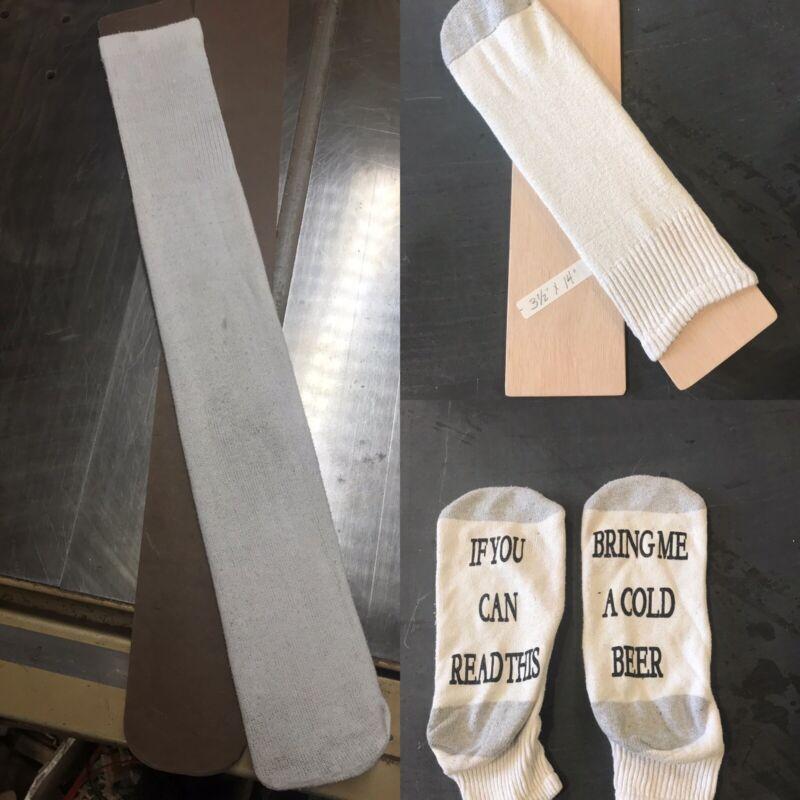 Sublimation And Heat Transfer Vinyl Tube Sock Jigs