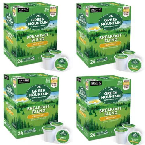Green Mountain Coffee Breakfast Blend, Keurig K-Cup Pod, Light Roast, *96 Count*