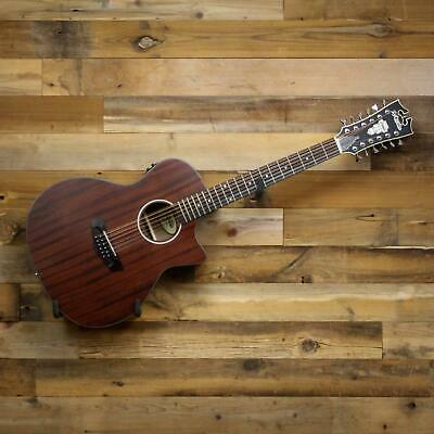 D'Angelico Premier Fulton LS 12-String Acoustic-Electric Natural Mahogany