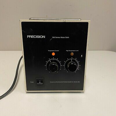 Precision Scientific Model 180 Heated Lab Water Bath No Lid Tested Working