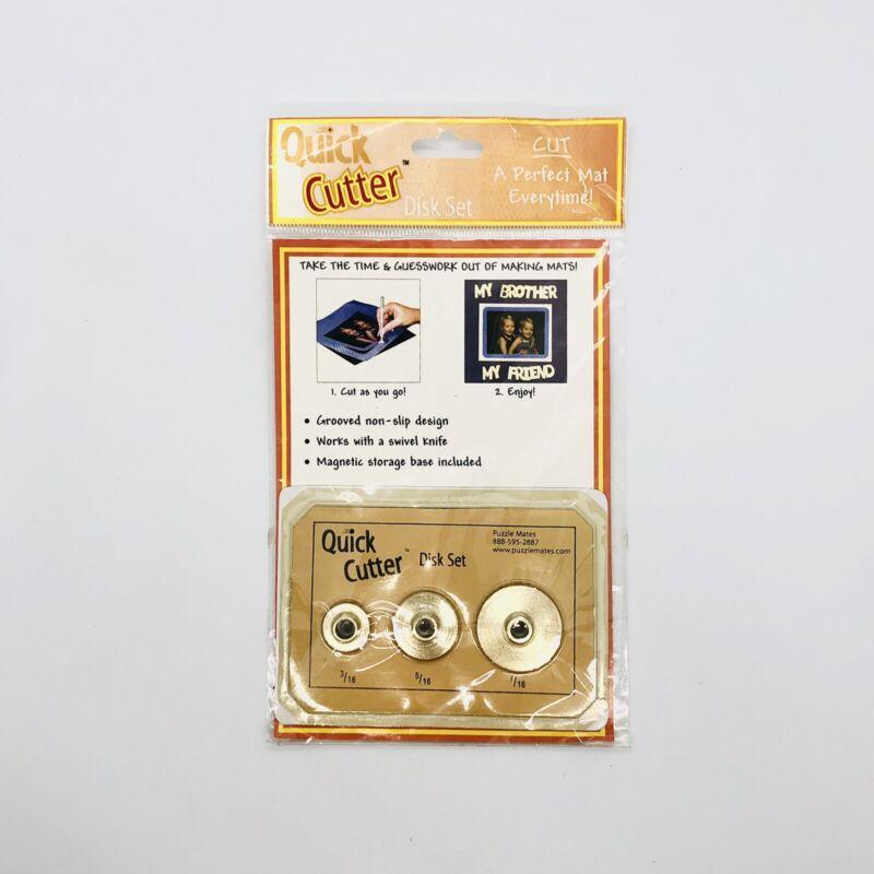 Quick Cutter Disk Set