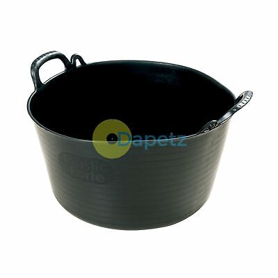 Multi-Purpose Flexible Tub Strong 26Ltr For Building Plastering Gardening