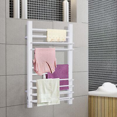 Toallero Eléctrico Calentador Secador Térmico de Toallas para Baño 16 Barras