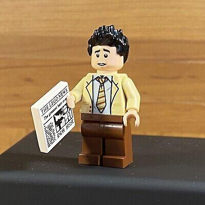 Ross Geller Lego Friends Central Perk Minifigure 21319 Mini Figure New