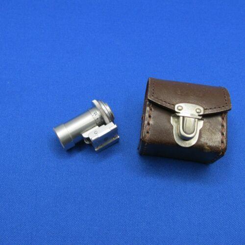 "Nikon Rangefinder RF 10.5cm Finder with ""EP"" Mark plus Case"