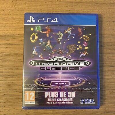 Jeu Ps4 Megadrive Classics Sega Mega Drive - NEUF Blister - Sony...