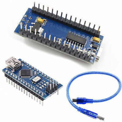 Usb Nano V3.0 Atmega328 16m 5v Micro Controller Ch340g Board For Arduino Ca