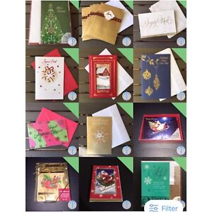 Christmas/Holidays cards in French and English