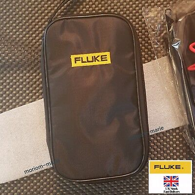 Soft Black Carrying Casebag For Fluke 15b 17b 18b 302 303 101 106 107
