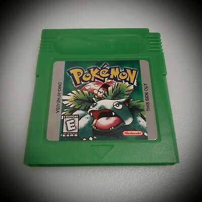 Pokemon Green Version GameBoy Color GBC (FREE SHIPPING)