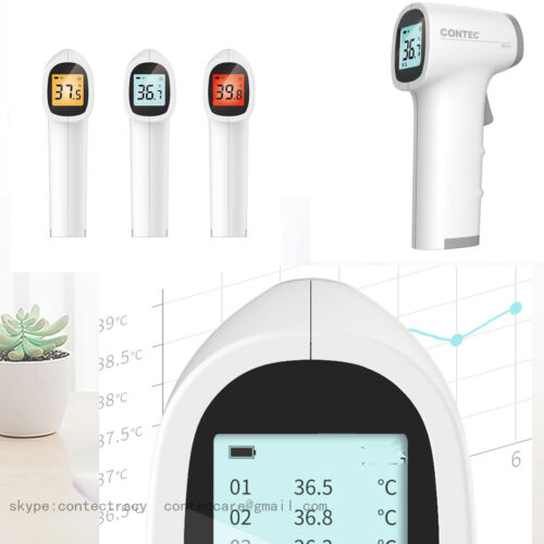 CONTE ir infrared thermometer forehead/body/wrist non-contact the thermometer,CE