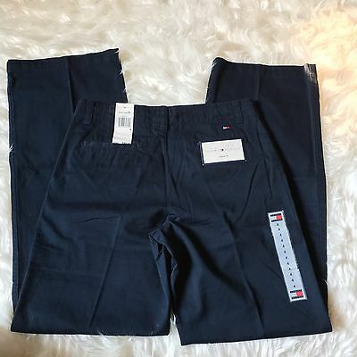 Tommy Hilfiger Pants Navy Blue Chino Ladies Size 4 NWT