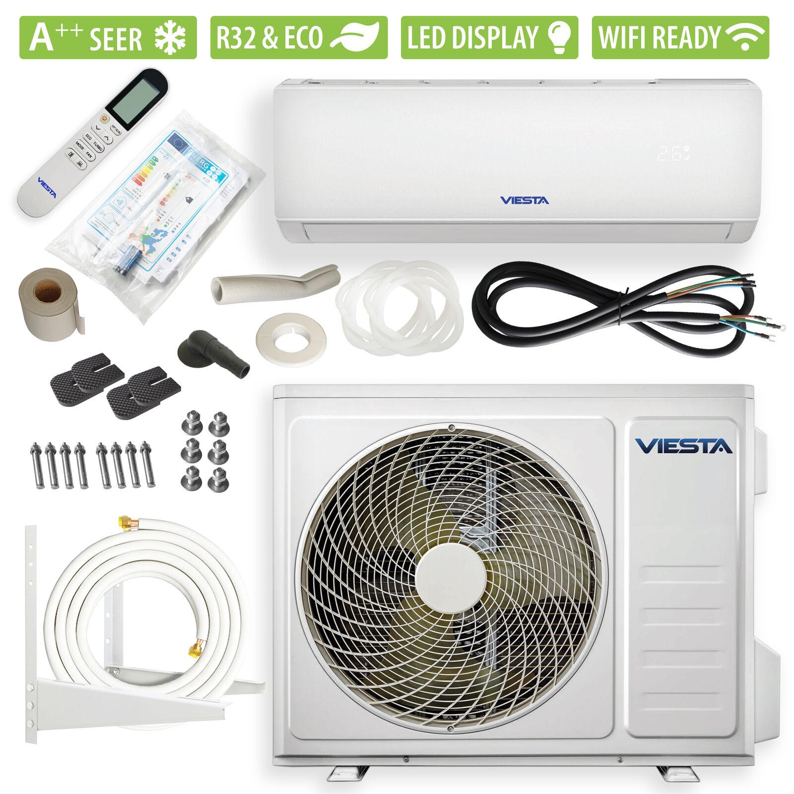 VIESTA 09SM Split Klimaanlage Klimagerät Inverter 9000BTU 2,6kW WiFi-Ready A++