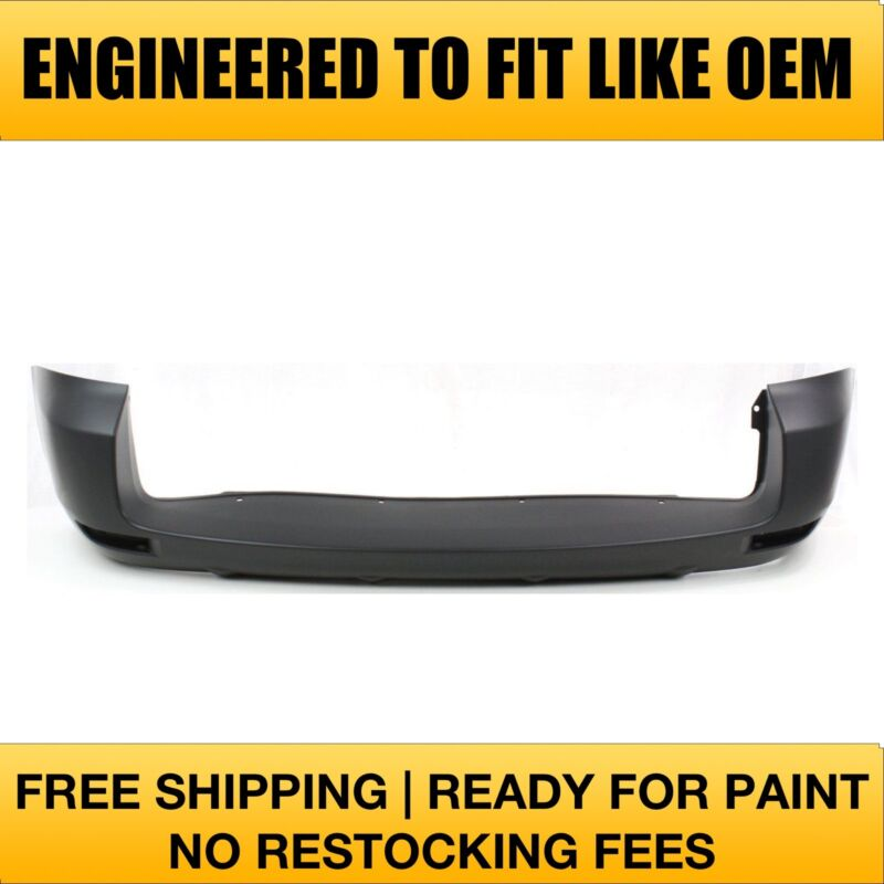 NEW 2006 2007 2008 Toyota Rav4 Rear Bumper w//o Extention Painted TO1100241