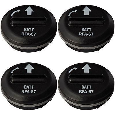 4 X Petsafe RFA-67D Lithium Batterie Modul für Bellen Kontrolle,Radio Zaun ()