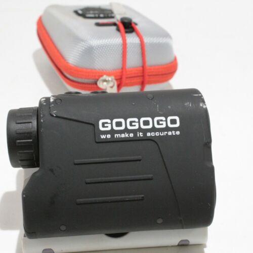 Gogogo GS03 Black 650/900Y Golf Rangefinder Laser Hunting Rangefinder