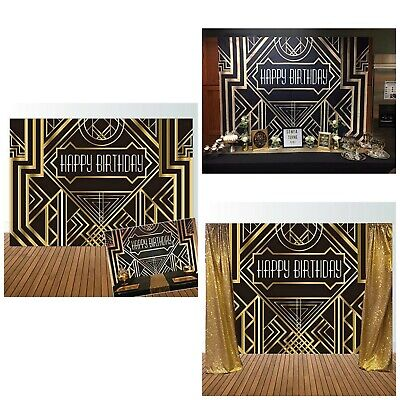 Great Gatsby Themed (The Great Gatsby Themed Backdrop Party Decoration Photo Studio Booth Art)