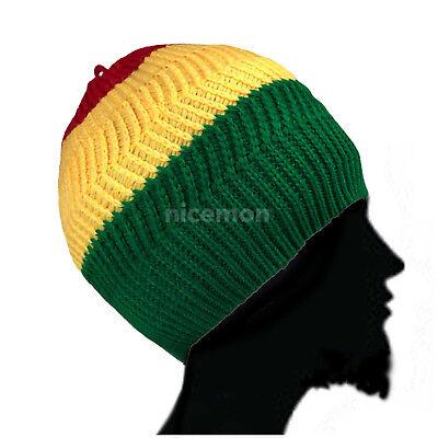 Rasta Twister Dreadlocks Tam Hut Barett Kappe Reggae Marley Jamaica Rasta m/l Rasta Tam