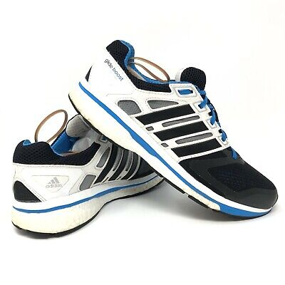Adidas Supernova Glide 6 Boost Black/White/Blue Men's Running Shoes Size 10.5 (Adidas Supernova Glide 6)