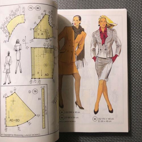 NEW Lutterloh International Sewing Pattern Making Golden Rule System Germany 80s