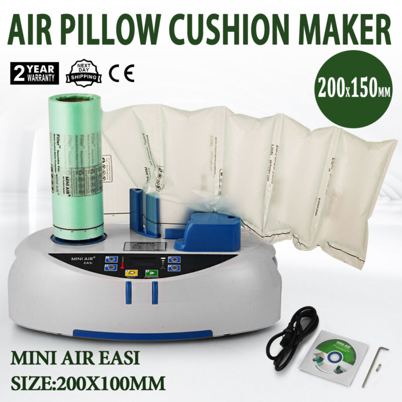 Mini Air Easi Air Cushion Wrap Machine 2800Pc Air Pillow Packaging Bag
