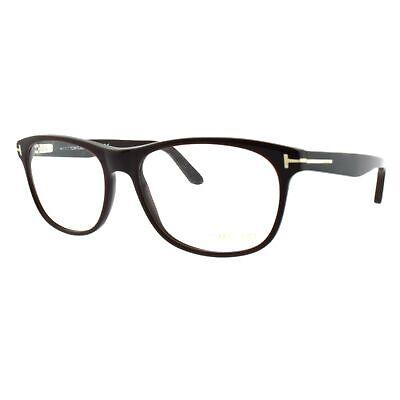 Tom Ford FT5431 048 Brown Full Rim Square Men Optical Frames (Tom Ford Mens Optical Frames)