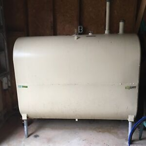 Oil tank (SOLD) and furnace