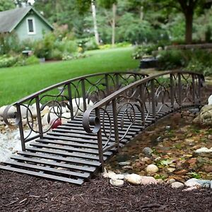 Backyard Metal Bridges