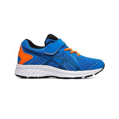 Asics Jolt 2 Junior Kids Running Fitness Training Trainer Shoe Blue/Orange