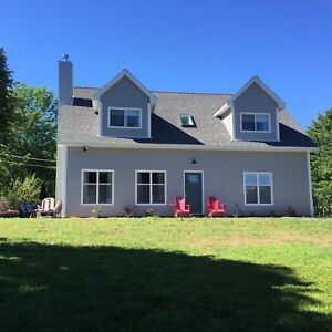 Four bedroom, four bathroom oceanfront home in Mahone Bay