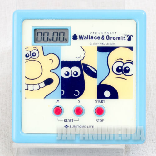 RARE! Wallace & Gromit Kitchen Timer Ardman JAPAN