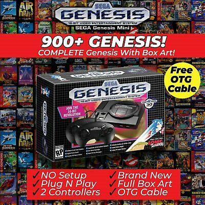 SEGA Genesis Mini 900+ FULL GENESIS LIBRARY | Brand New, Authentic