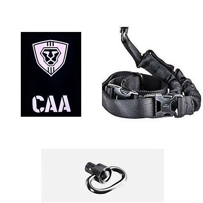 MCK CAA OPS One Point Sling Push Button Swivel Combo for Micro Roni MCK - Black