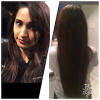 TOP QUALITY HAIR EXTENSIONS! Hot fusions/mobile! In salon
