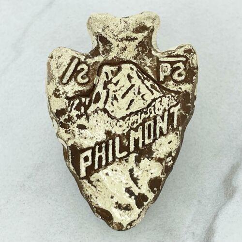 Vintage Philmont BSA Boy Scout Neckerchief Scarf Slide Buckle