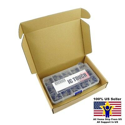 15value 200pcs Electrolytic Capacitor Assortment Box Kit Us Seller Kitb0118