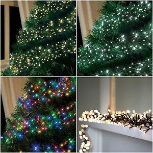 280 480 720 960 led christmas cluster string lights indoor. Black Bedroom Furniture Sets. Home Design Ideas