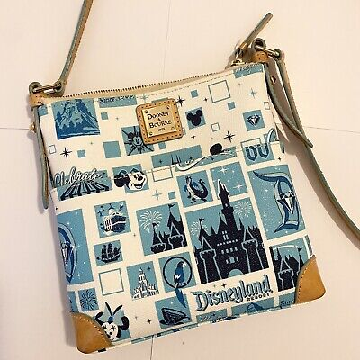 Disney Dooney and Bourke Disneyland 60th Diamond Anniversary Crossbody Bag- Used