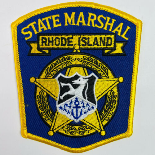 Rhode Island State Marshal RI Patch (A1-A)