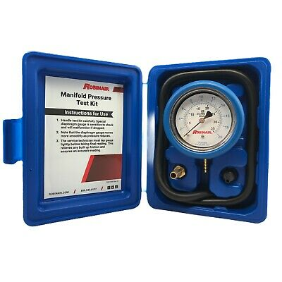 Robinair 42160 Manifold Pressure Test Kit Brand New Free Shipping