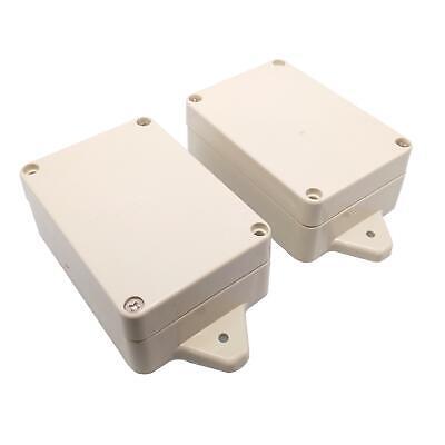 Us Stock 2pcs Plastic Project Box Electronic Enclosure Case Diy 35 X 58 X 83mm