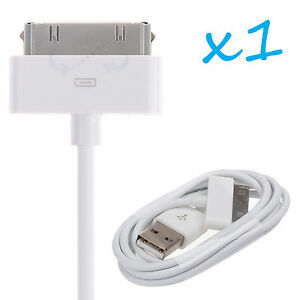 USB Sync Data Charging Charger Cable Cord for Apple iPhone 4S 4 ipod 4G 4th Gen