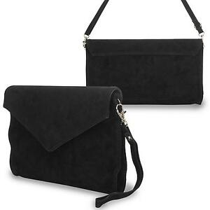 Black Suede Bag | Clothes, Shoes & Accessories | eBay