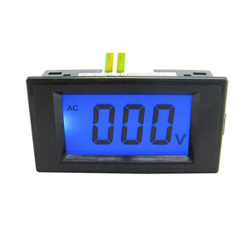 US Stock LCD Volt Meter AC 80-500V For 110V AC Power Doesn