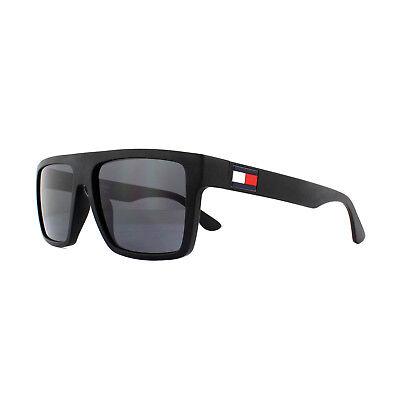 Tommy Hilfiger Sunglasses TH 1605/S 003 IR Matte Black Grey Blue