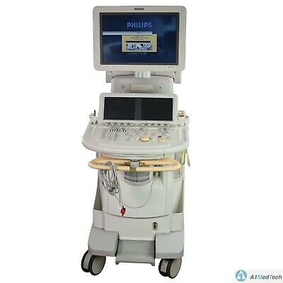 Philips Ie33 Xmatrix Ultrasound System G Cart With S5-1 And L15-7io Probes