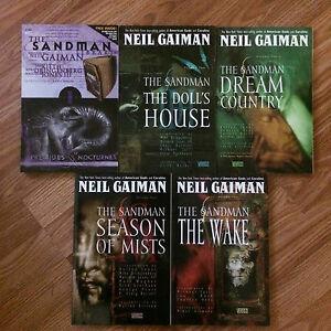 Sandman Comic Books