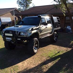 2002 Supercharged 3.4L Toyota Hilux Ute Singleton Singleton Area Preview