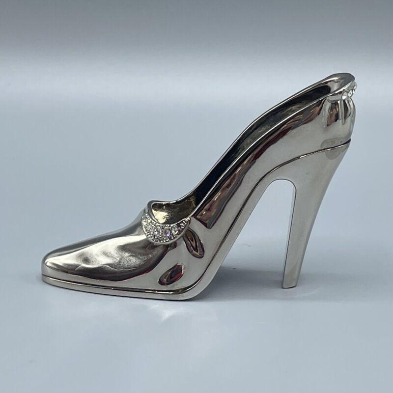 JuJu Palais Royale Swarovski Crystal Shoe - TESSA-Silver