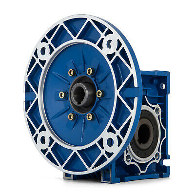 MRV050 Worm Gear 20:1 80C Speed Reducer 1750RPM Industrial Aluminum Motor  Worm Gear Reducer